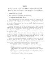 MỘT SỐ  BIỆN PHÁP NHẰM HOÀN THIỆN HOẠT ĐỘNG MARKETING TẠI CHI NHÁNH CÔNG TY DU LỊCH THÀNH PHỐ HỒ CHÍ MINH TẠI HÀ NỘI.