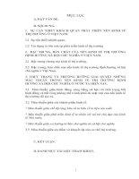 THỰC TRẠNG VÀ PHƯƠNG HƯỚNG GIẢI QUYẾT NHỮNG MÂU THUẪN TRONG NỀN KINH TẾ THỊ TRƯỜNG ĐỊNH HƯỚNG XÃ HỘI CHỦ NGHĨA Ở NƯỚC TA HIỆN NAY