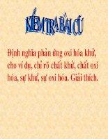 Bai 33 Dieu che Hidro - phan ung the