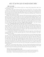 Giới thiệu một số di tích lịch sử huyện Đông Triều- Quảng Ninh