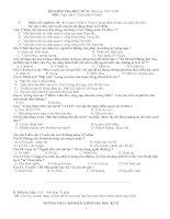 Đề kiểm tra Ngữ văn 6 HK II - 2008