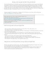 Bộ công cụ biên soạn giáo trình điện tử tiếng Anh miễn phí