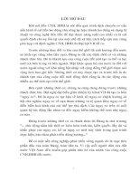 CÁC GIẢI PHÁP CƠ BẢN ĐỂ TIẾN HÀNH CNH-HĐH Ở NƯỚC TA HIỆN NAY ĐẾN NĂM 2000
