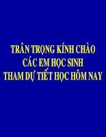 Mon Khoa hocKhoa hoc - On tap vat chat va nang luong lop 5