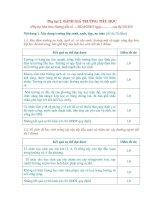 Tiêu chí đánh giá trường học thân thiện, học sinh tích cực (Dự thảo 13)