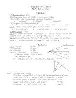 Bài kiểm tra hình lớp 6(15 phút)