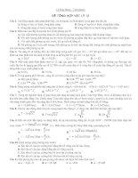 Tài liêuh ôn tập Vật lý 12( Tổng hợp)