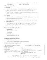 giáo án 11 cơ bản chương 1