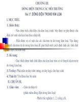 Bài 13. Dòng điện trong kim loại