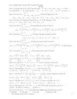 bài tập trắc nghiệm dãy số- cấp số cộng- cấp số nhân