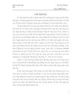 PHÂN TÍCH CÁC ĐIỀU KIỆN ĐỂ PHÁT TRIỂN SẢN PHẨM LỮ HÀNH TẠI TRUNG TÂM LỮ HÀNH QUỐC TẾ HÀ NỘI REDTOURS