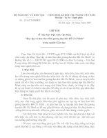 CHỈ THỊ CỦA BỘ VỀ HỌC TẬP VÀ LÀM THEO TẤM GƯƠNG ĐẠO ĐỨC HỒ CHÍ MINH