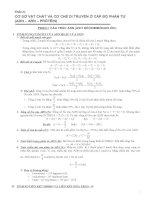 Công thức sinh học lớp 12