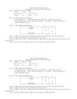 Đề kiểm tra lớp 9 (ADN và NST)
