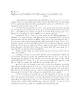 Những lưu ý khi dạy bài Chó Sói và Cừu trong thơ Ngụ ngôn La Phông ten