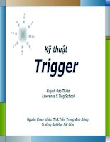 Hướng dẫn trigger trong PowerPoint