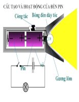 Cấu tạo và hoạt động của đèn pin