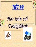 Học toán với ToolKit Math