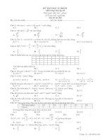kiểm tra 1 tiết thống kê và lượng giác lớp 10