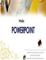 Soan giao an tien tu bang: EXE va Powerpoint