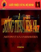 Bài Giới thiệu Súng bộ binh Tiểu liên AK