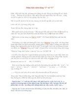 Lỗi chính tả: phân biệt cách dùng I và Y