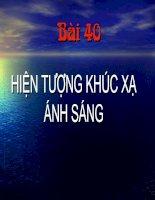 Bai 40 Hien tuong khuc xa anh sang