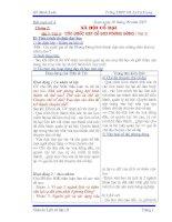 Giáo an 10( cơ bản ) đầy đủ cả đề kiêmtra