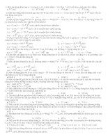 1000 câu hỏi trắc nghiệm luyện thi đại học