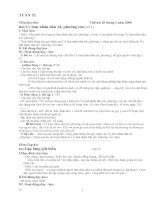 Giáo án lớp 5 - tuần 22