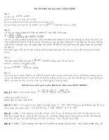 Tập hợp các đề thi học sinh giỏi toán 9