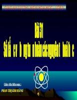 Bài 31 : Sơ lược về bảng tuần hoàn các nguyên tố hóa học