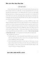 BÀI THUYẾT TRÌNH VỀ TÀI CHÍNH BẢO HIỂM XÃ HỘI Ở VIỆT NAM HIỆN NAY