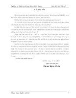 ĐÁNH GIÁ TÌNH HÌNH TÀI CHÍNH CỦA CÔNG TY TNHH ĐẦU TƯ VÀ PHÁT TRIỂN CÔNG NGHỆ THÁI DƯƠNG