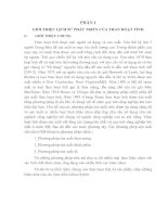 ĐẶC ĐIỂM PHỤ TẢI CỦA THANG MÁY VÀ CÁC YÊU CẦU TRUYỀN ĐỘNG CHO THANG MÁY