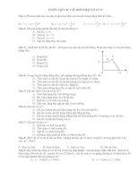 516 Câu hỏi trắc nghiệm Vật Lý 10 - Sưu Tầm