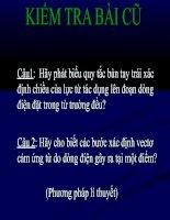 Bài 31: Tuong tac giua 2 dđ thang song song 11NC