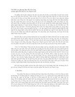các phương thức kết cấu trong tác phẩm Hai đứa trẻ của Thạch Lam