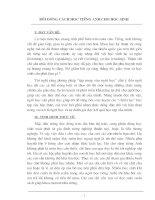 Ph]ơng pháp rèn luyện câu chủ động sang câu bị động