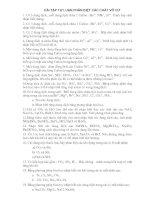BT TỰ LUẬN NHẬN BIẾT VÔ CƠ 12