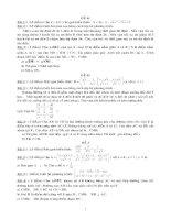 Bộ đề thi vào 10 các lớp chuyên ( C.N )