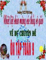 Chuyen De Toan 9