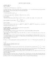 Đề ôn thi đại học môn toán 08-09 (theo cấu trúc của BGD - ĐT)