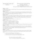 Đề thi HSG tỉnh lớp 9 Nghệ An 06-07