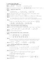 Bài tập lượng giác 10 P5