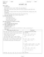 Giáo án phụ đạo toán 7