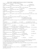 bài tập về Nito-Photpho