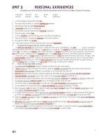 PRACTICE TEST  OF  UNIT 2