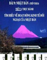 thuc hanh - Nhat Ban