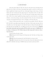 """Giảipháp hoàn thiện kênh phân phối sản phẩm FPT ELAED của công ty TNHH dịch vụ kỹ thuật và thương mại ATD .Nhằm nâng cao khả năng cạnh tranh trên thị trường Việt Nam """""""